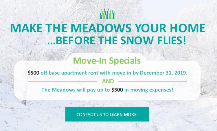Meadows Move in Special